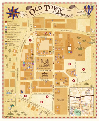 Albuquerque Old Town Map by Steve Hiatt issuu