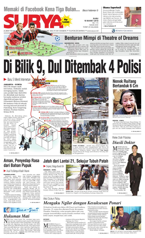 Surya Edisi Cetak 10 Maret 2010 By Harian Issuu Kopibubuk Robusta Toko Rezeki Akumandiri Malang