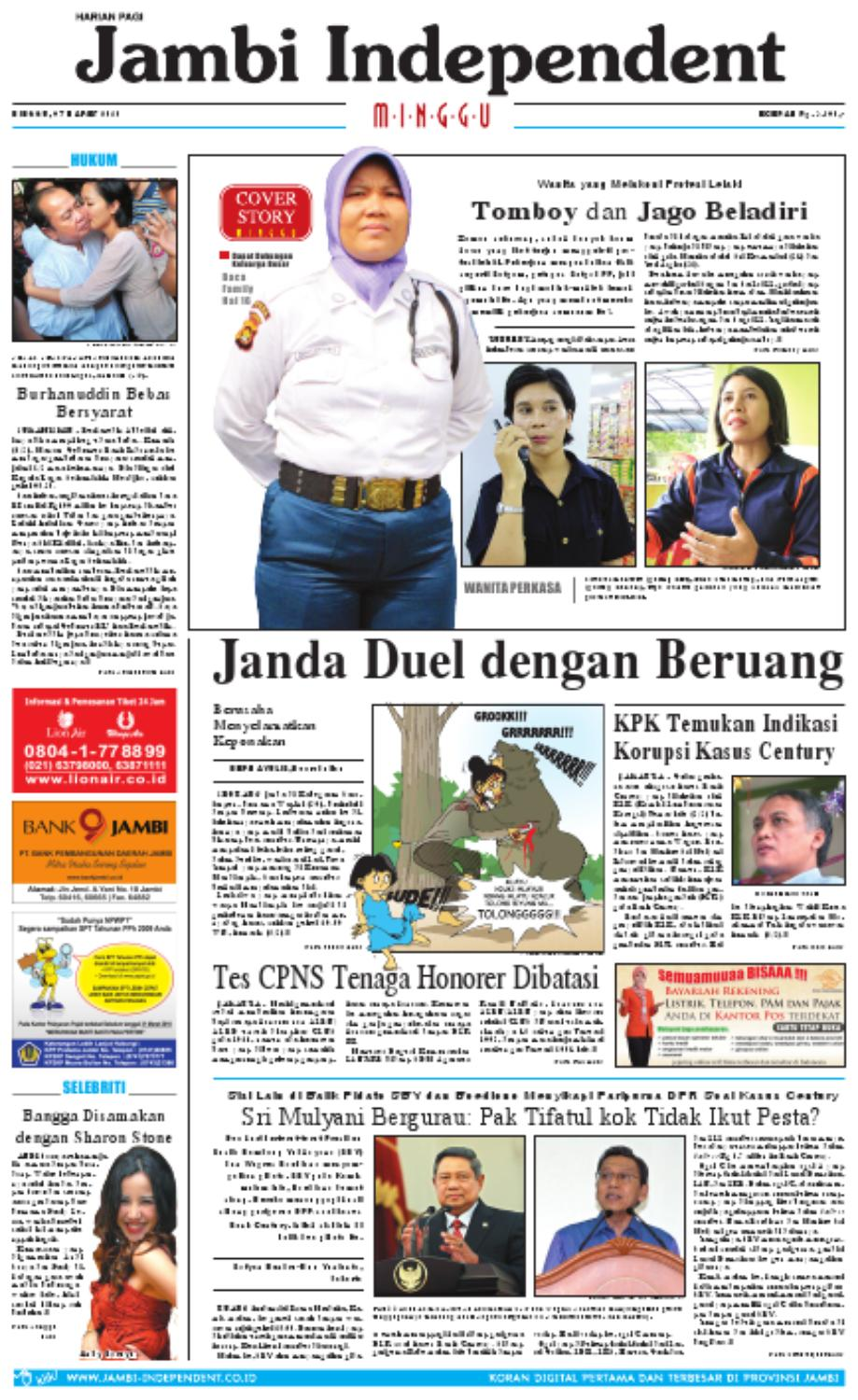 Jambi Independent 07 Maret 2010 By Jambi Independent Issuu