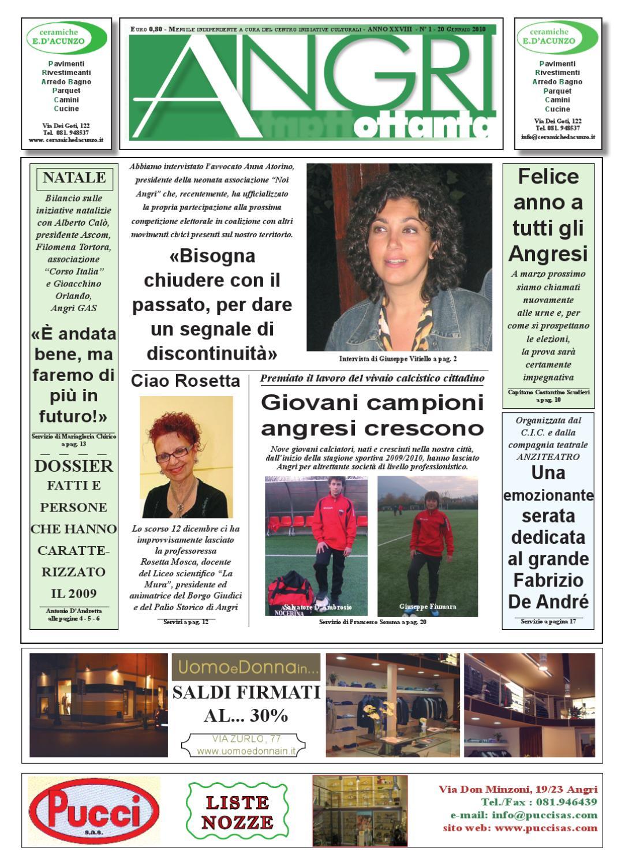 a80.gennaio_2010 by piazzadoria piazzadoria - issuu - Arredo Bagno Angri