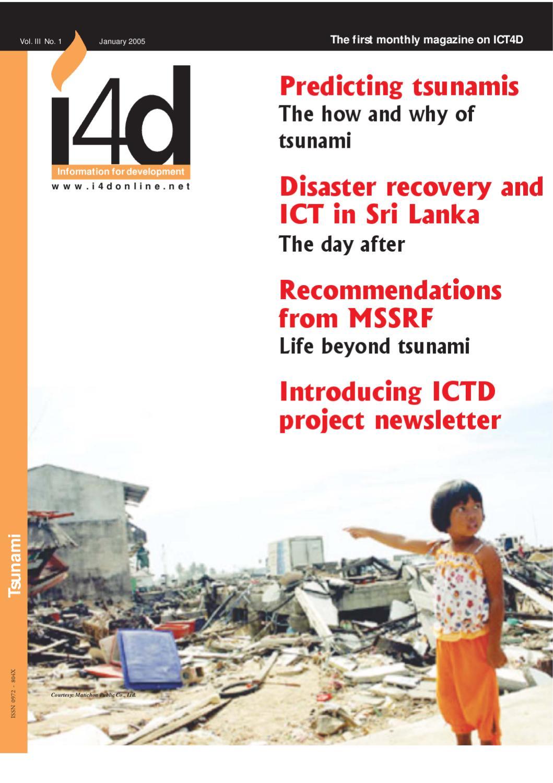 Tsunami : January 2005 Issue by i4d magazine - issuu