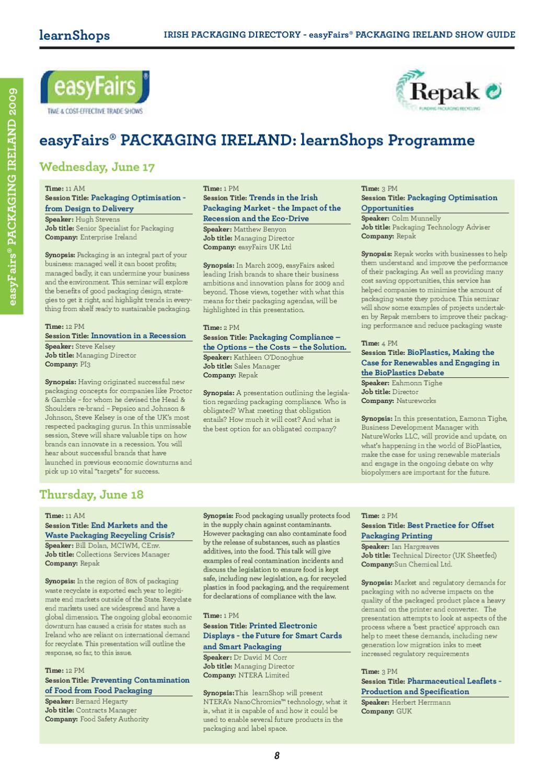 Irish Packaging 2009 by Retail News - issuu