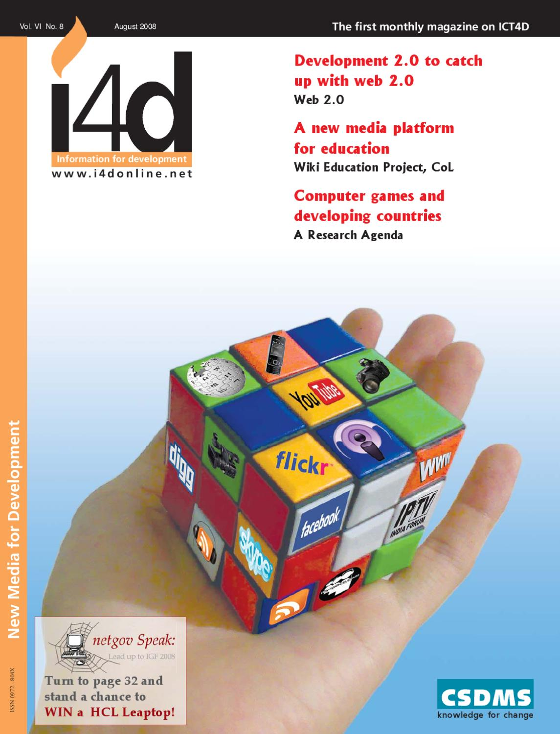 New Media For Development August 2008 Issue By I4d Magazine Issuu Ps2 Controller Diagram Flickr Photo Sharing