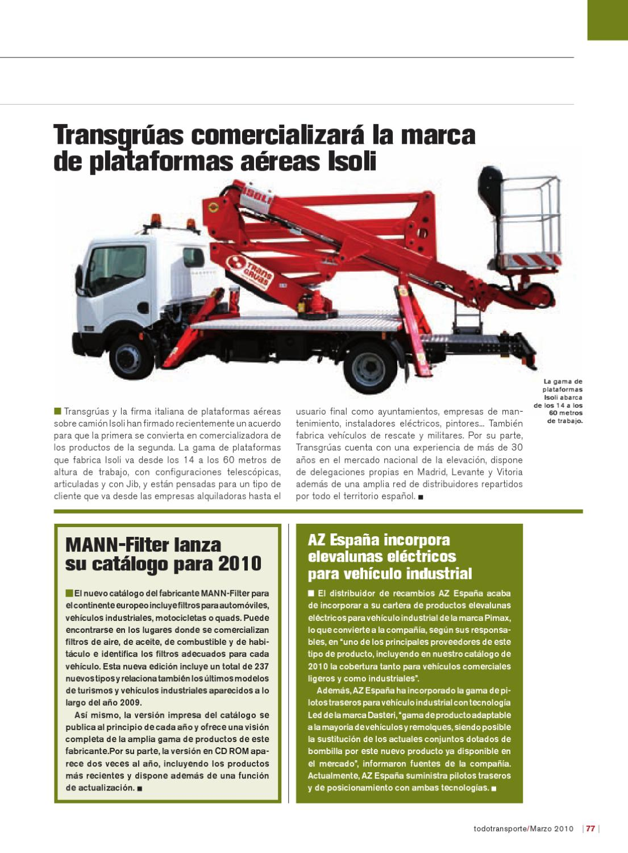 Todotransporte-303 by Versys Ediciones Técnicas ead0d1b8d6a2
