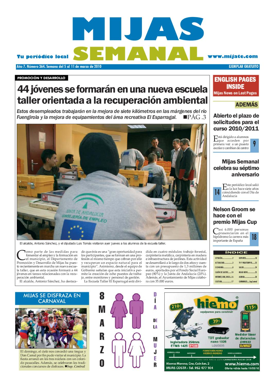 Mijas Semanal nº364 - Del 5 al 11 de Marzo de 2010 by Mijas Semanal - issuu b7fc5ae369a