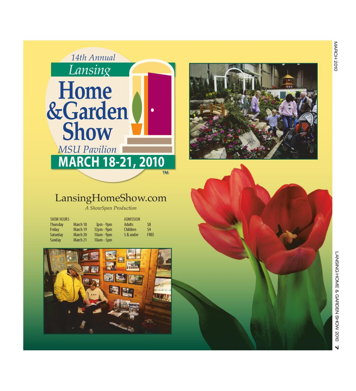 Lansing Home Garden Show Program 2010 By Showspan Inc Issuu