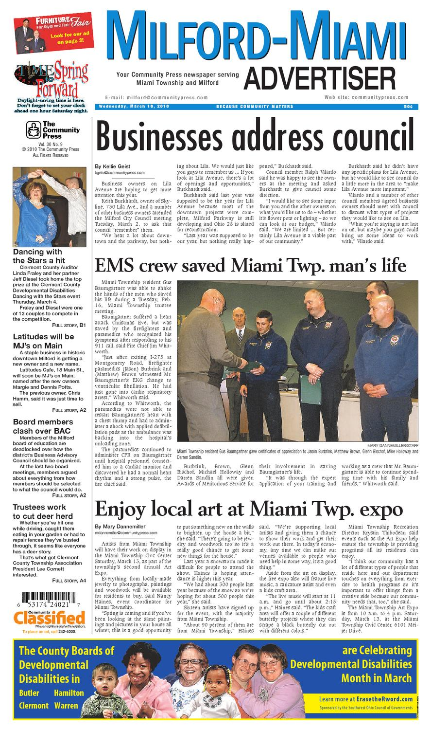 milford miami advertiser 20 by Enquirer Media   issuu