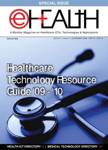 Healthcare Technology Resource Guide '09 - '10: November 2009 Issue