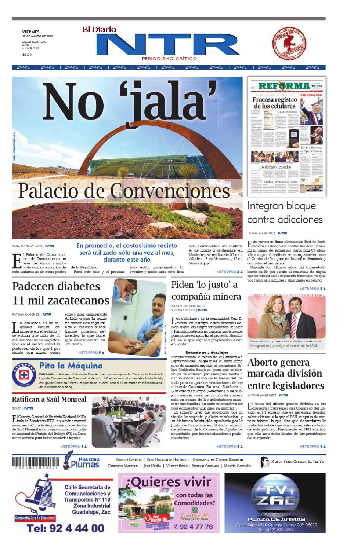 El Diario NTR by NTR Medios de Comunicación - issuu 11981b5eb1090