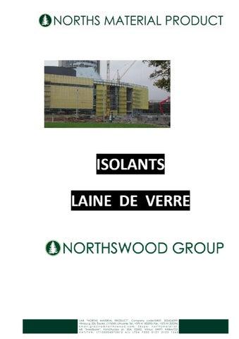 Laine de verre by northsmp material issuu - Tarif laine de verre ...