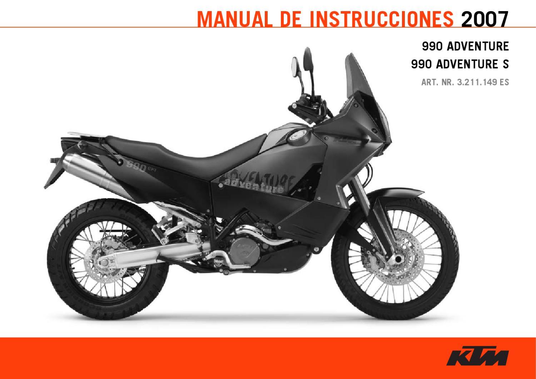 manual ktm 990 2007 by ktm lc8 issuu rh issuu com 2007 KTM Super Duke 990 Review 2007 KTM 990 Duke Review