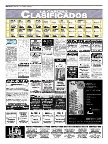 1b9c45f0649ab2 Clasificados del viernes 12 de marzo by Diario La Capital - issuu