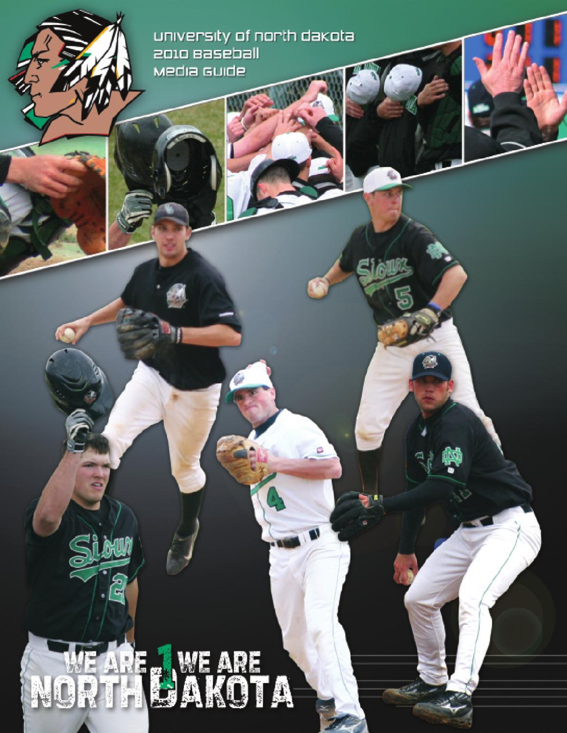 University of North Dakota baseball media guide 2010 by