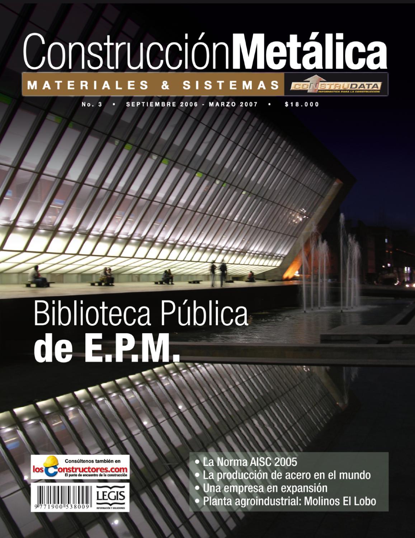 Revista Construcción Metálica Ed. 3 by Legis SA - issuu