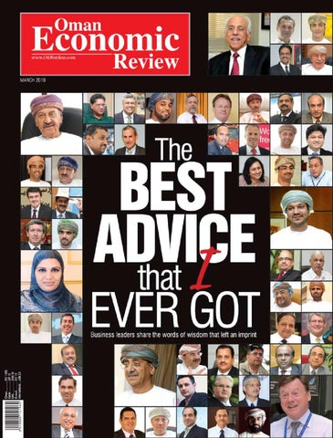 Oman Economic Review - March 2010 by oeronline emagazine - issuu