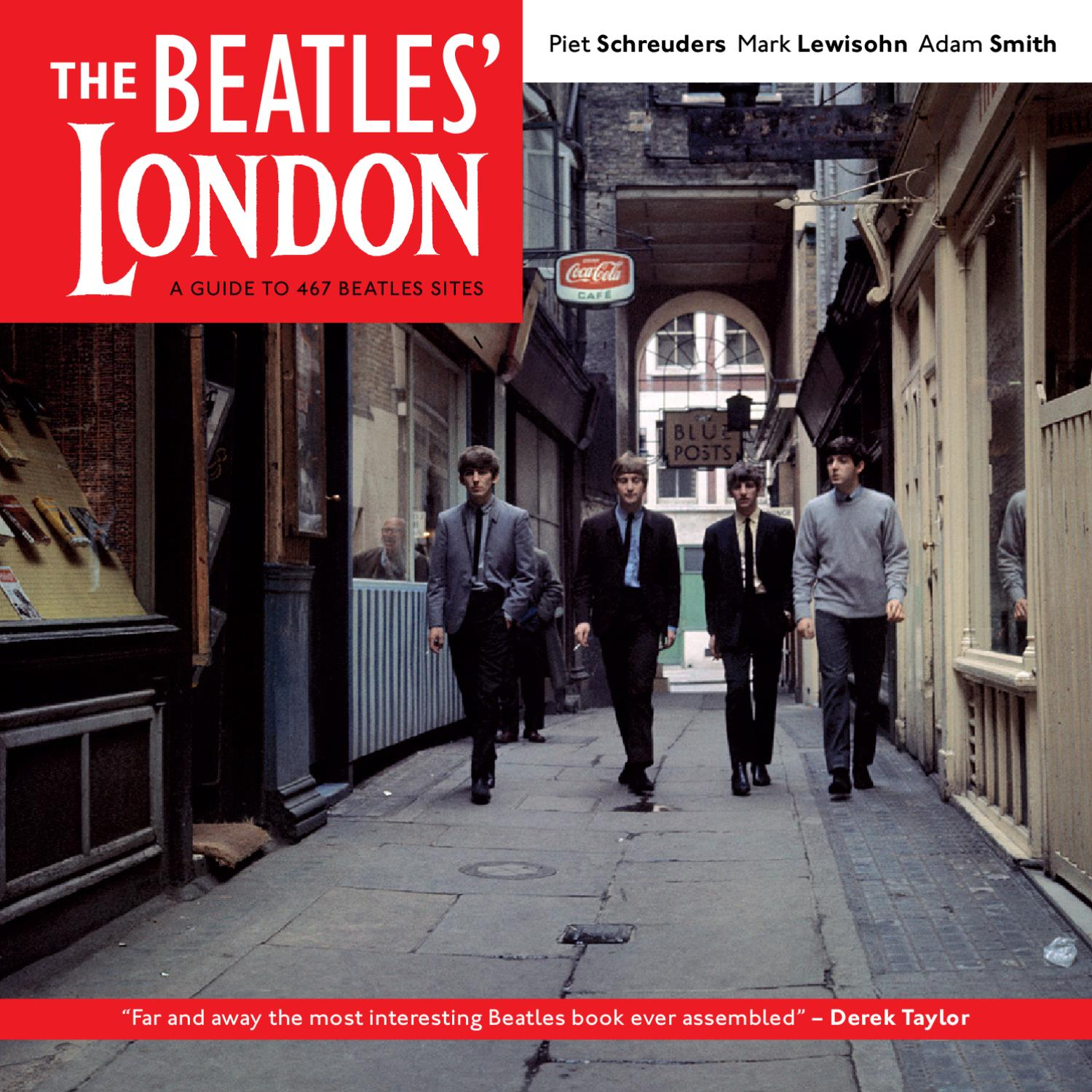 The Beatles London By Piet Schreuders Issuu