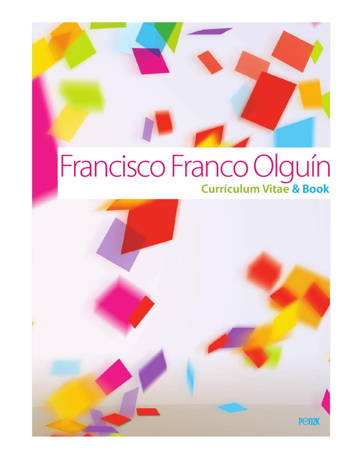 Resume & Book by Francisco Franco Olguín - issuu