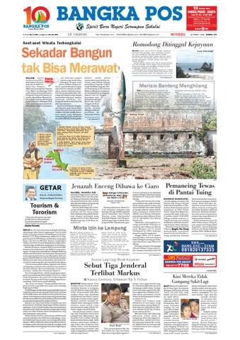 Contoh Gambar Plafon Gereja  harian pagi bangka pos edisi 14 maret 2010 by bangka pos issuu