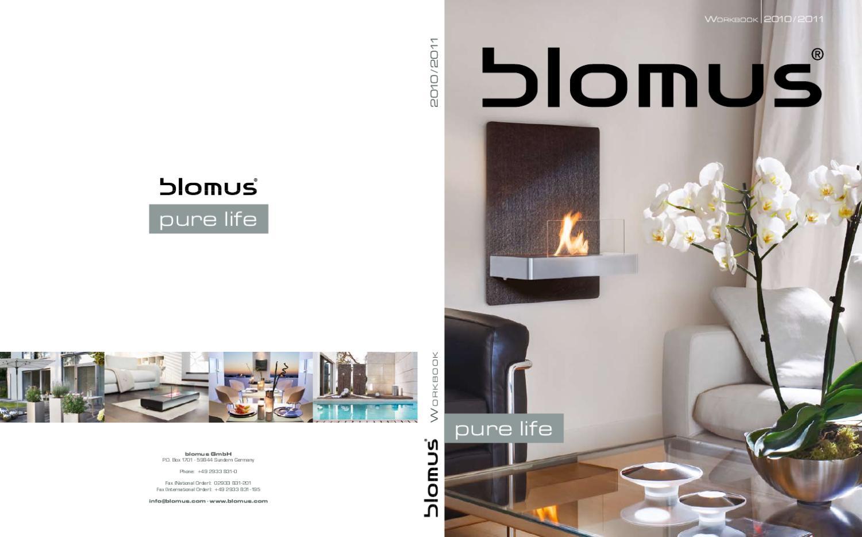 65131 Edelstahl matt Blomus Chimo Kamingarnitur 5 Tlg