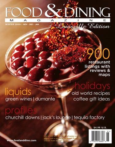 584f3703 Winter 2009 (Vol. 26) by Food & Dining Magazine - issuu
