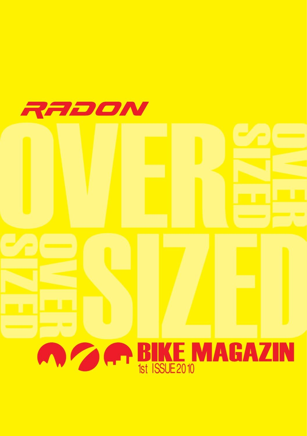 RADON OVERSIZE by Werbeagentur 4c media - issuu