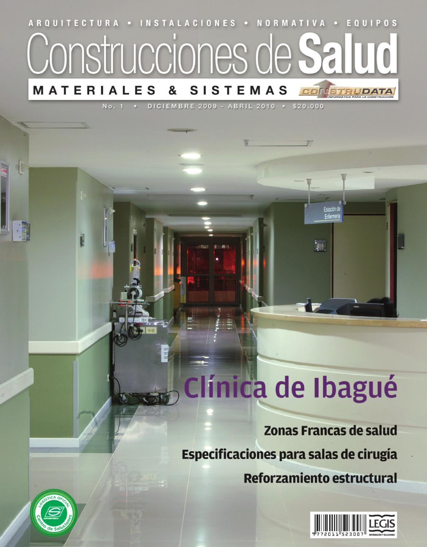 Revista Construcciones de Salud Ed. 1 by Legis SA - issuu