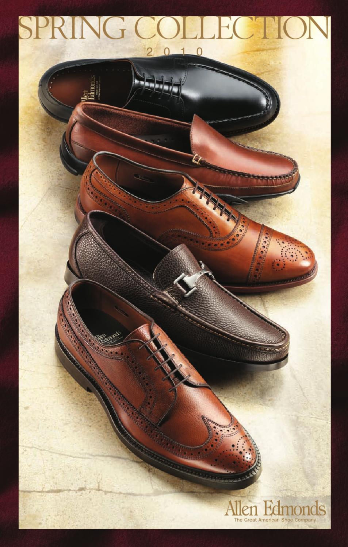 2010 Allen Edmonds Spring Catalog By Allen Edmonds Shoe Corporation