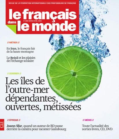 Le Français Dans Le Monde Numéro 369 By Cle International Issuu
