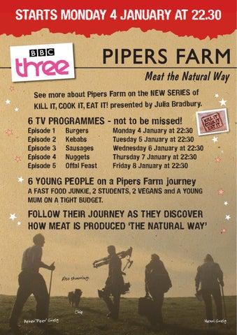 Pipers Farm - Kill It, Cook It, Eat It - Good Fast Food BBC