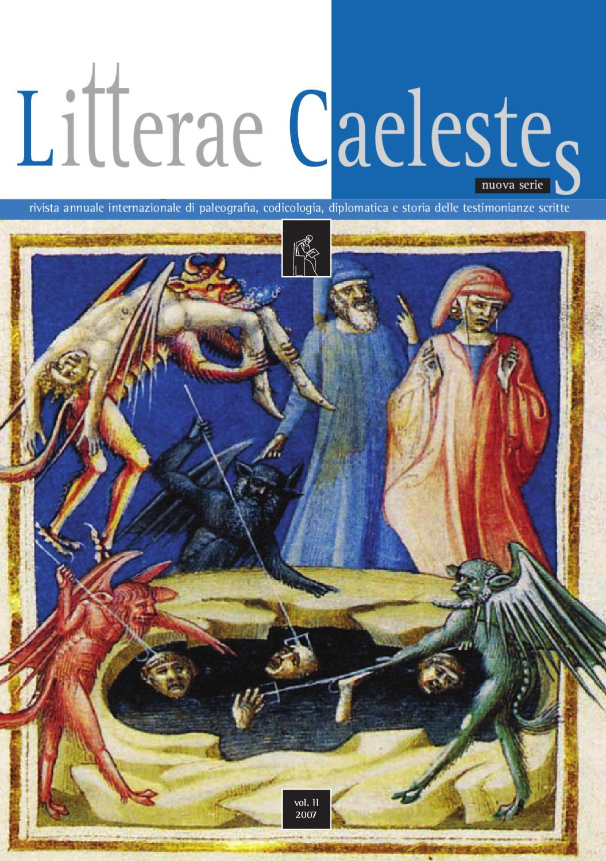 Litterae Caelestes #2 by Massimiliano D'Affronto issuu
