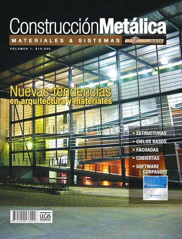 Revista Construcción Metálica Ed 1 By Legis Sa Issuu