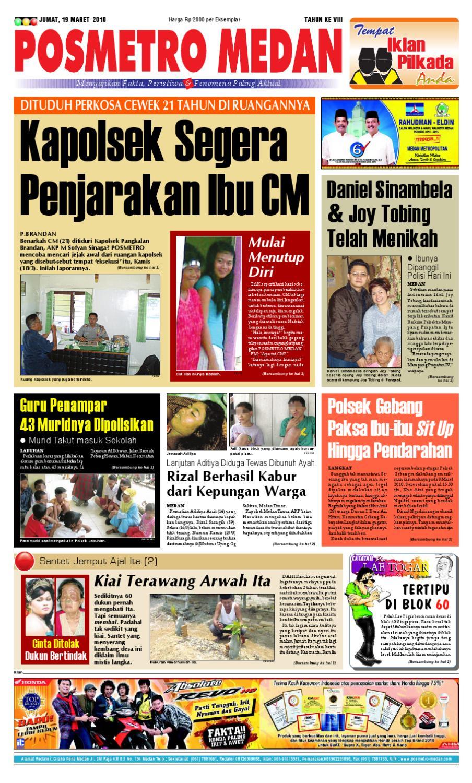 19 Maret 2010 By Posmetro Medan Issuu Charger Warna Warni Merk Hasan Sj0048