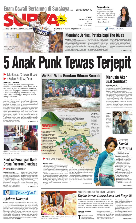 Surya Edisi Cetak 18 Maret 2010 By Harian Issuu Produk Umkm Bumn Lapis Surabaya Panjang Hj Enong