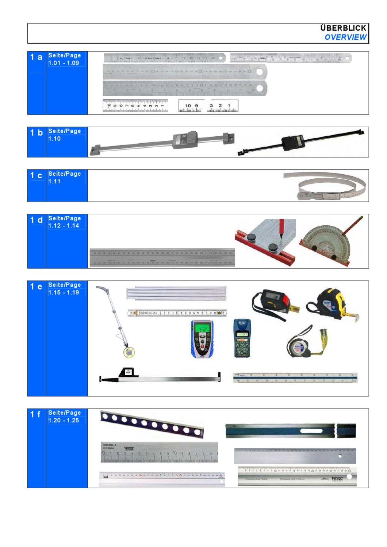 Semplix Aluminium Lineal Skalierung 60 cm + 24 Inch// Länge 61 cm