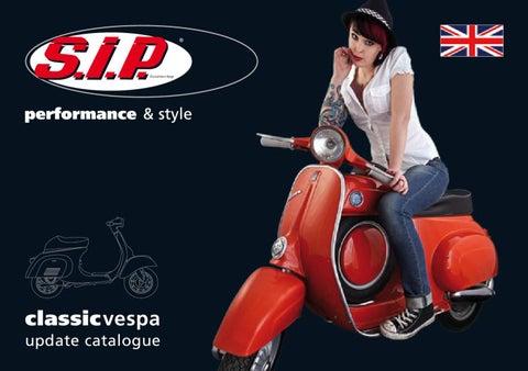 Exhaust Stub Gasket Kit SIP Vespa  200 Rally//P200E//PX200 E//Lusso //`98//MY