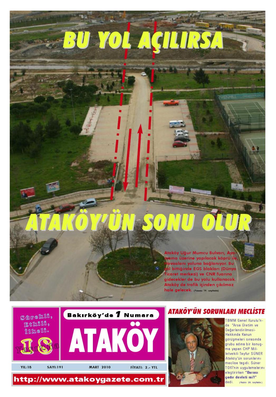 Atakoy Gazetesi Sayi 191 By Gokhan Atamer Issuu