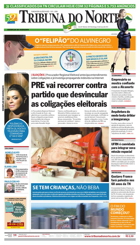 Tribuna do Norte - 21 03 2010 by Empresa Jornalística Tribuna do Norte Ltda  - issuu 8e36e79042