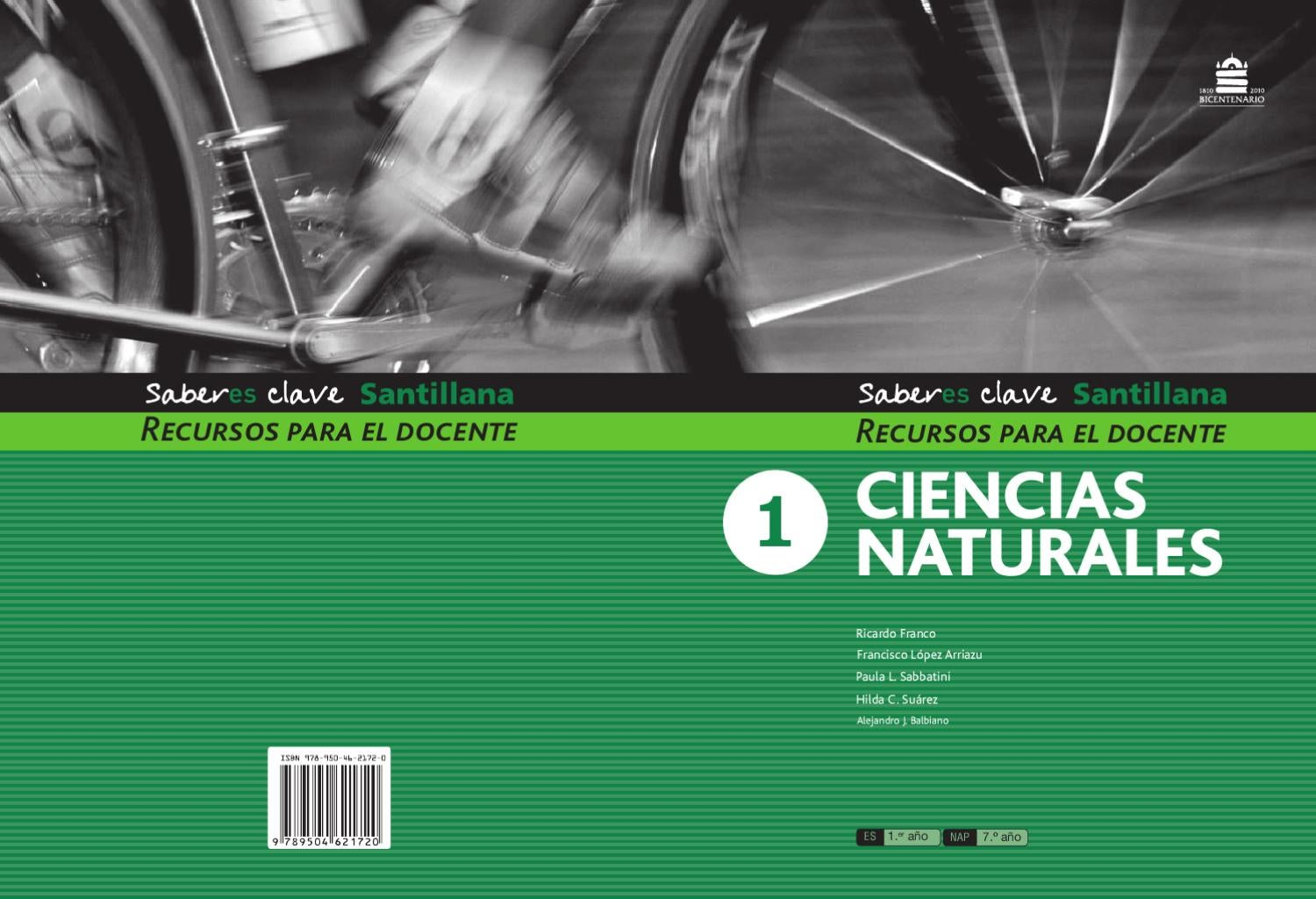 Saberes claves Ciencias naturales 7/1º by Marcela LALIA - issuu