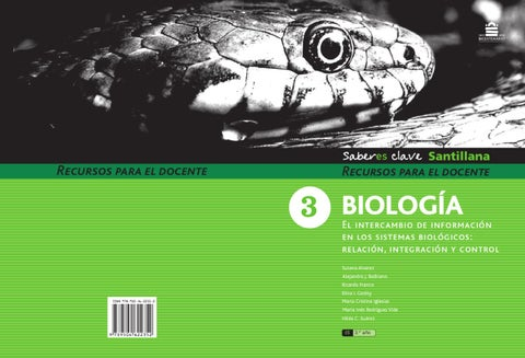 Saberes claves Biologia 9/3º by Marcela LALIA - issuu