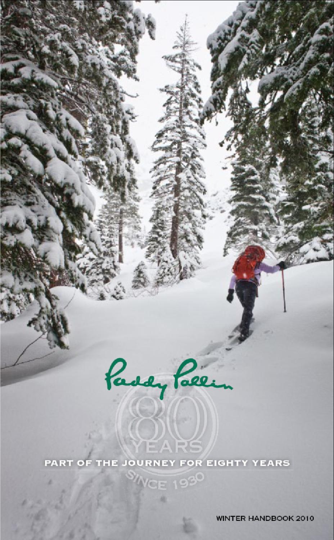 042dc930 Paddy Pallin Winter Handbook 2010 by Jame m - issuu