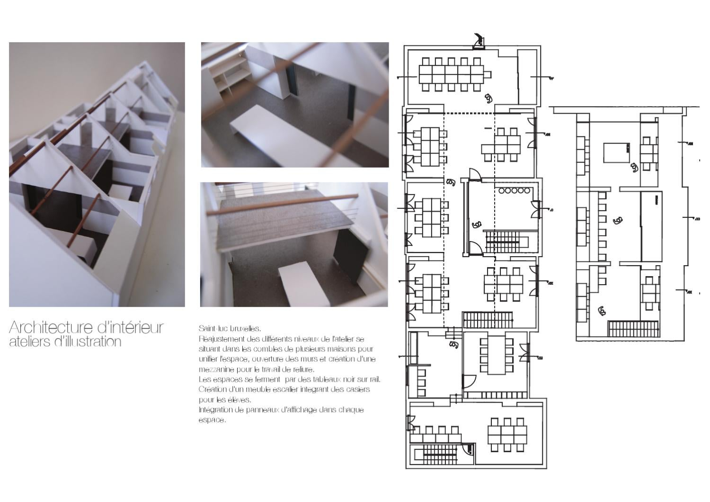 """Architecture D Intérieur Saint Luc illustration""""warren thomas - issuu"""