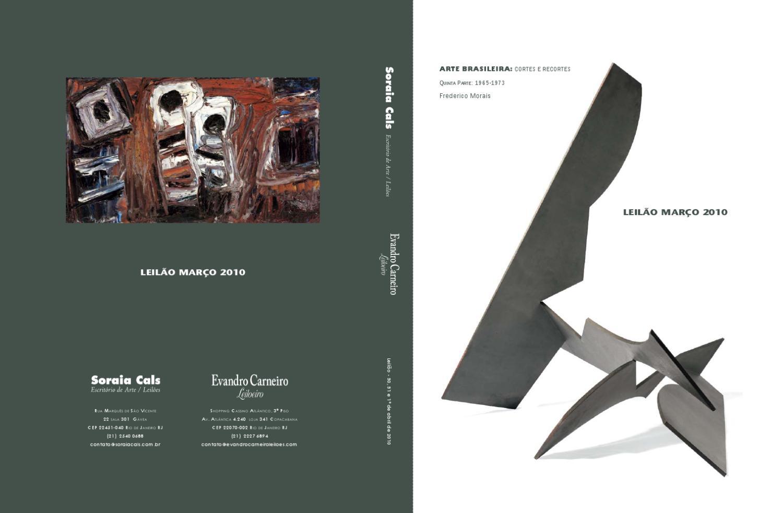e9307eec17 Leilao de marco de 2010 by Soraia Cals Escritorio de Arte - issuu
