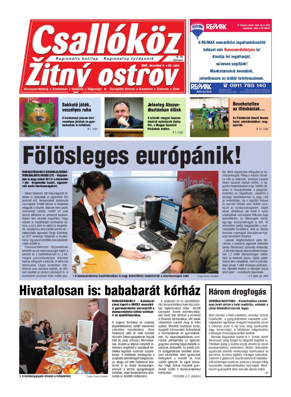 2008-50 Csallóköz by Csallóköz Šéfredaktor - issuu 5407aea94d
