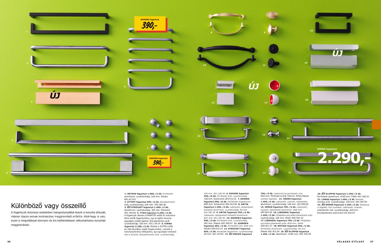 Ikea fogantyú