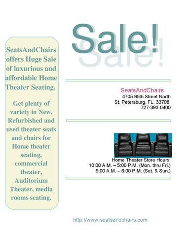 Get Plenty Of Variety In New Refurbished And Used Theater Seats Chairs For Home Seating Commercial Auditorium Media Rooms