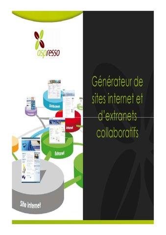 Générateur de sites internet et d extranets collaboratifs a9ce818e1207