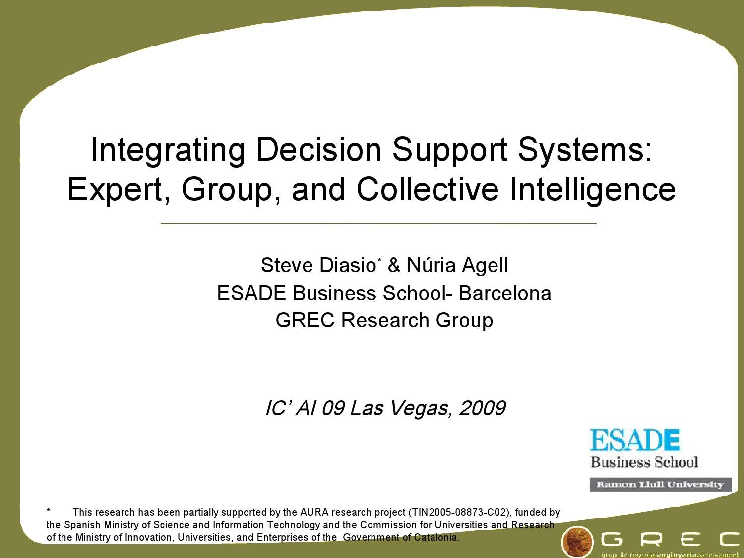 decision support and expert systems assignment 1 This assignment is based on a matching process by the expert system of patient   use of this computer-based decision support system in conjunction with.