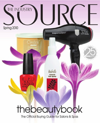 The Industry Source Spring 2010 the beautybook by TNG Worldwide - issuu