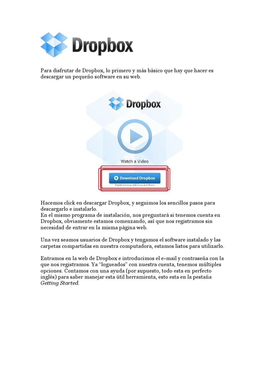 descargar dropbox para mac