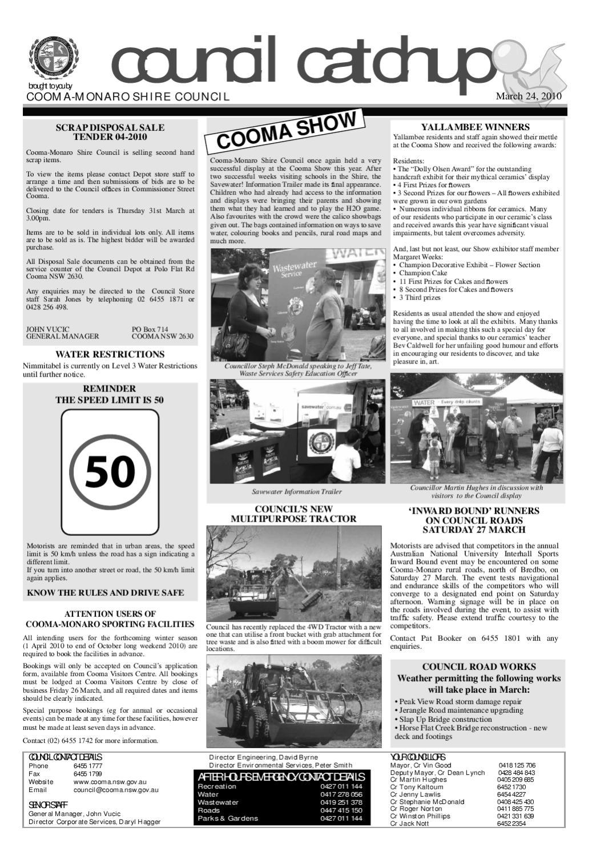 Monaro Post March 24, 2010 by Monaro Post - issuu